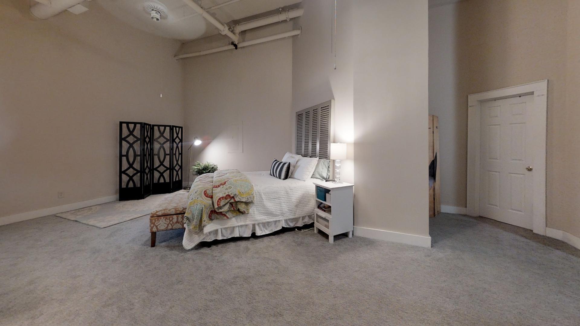 Palmetto Lofts Bedroom