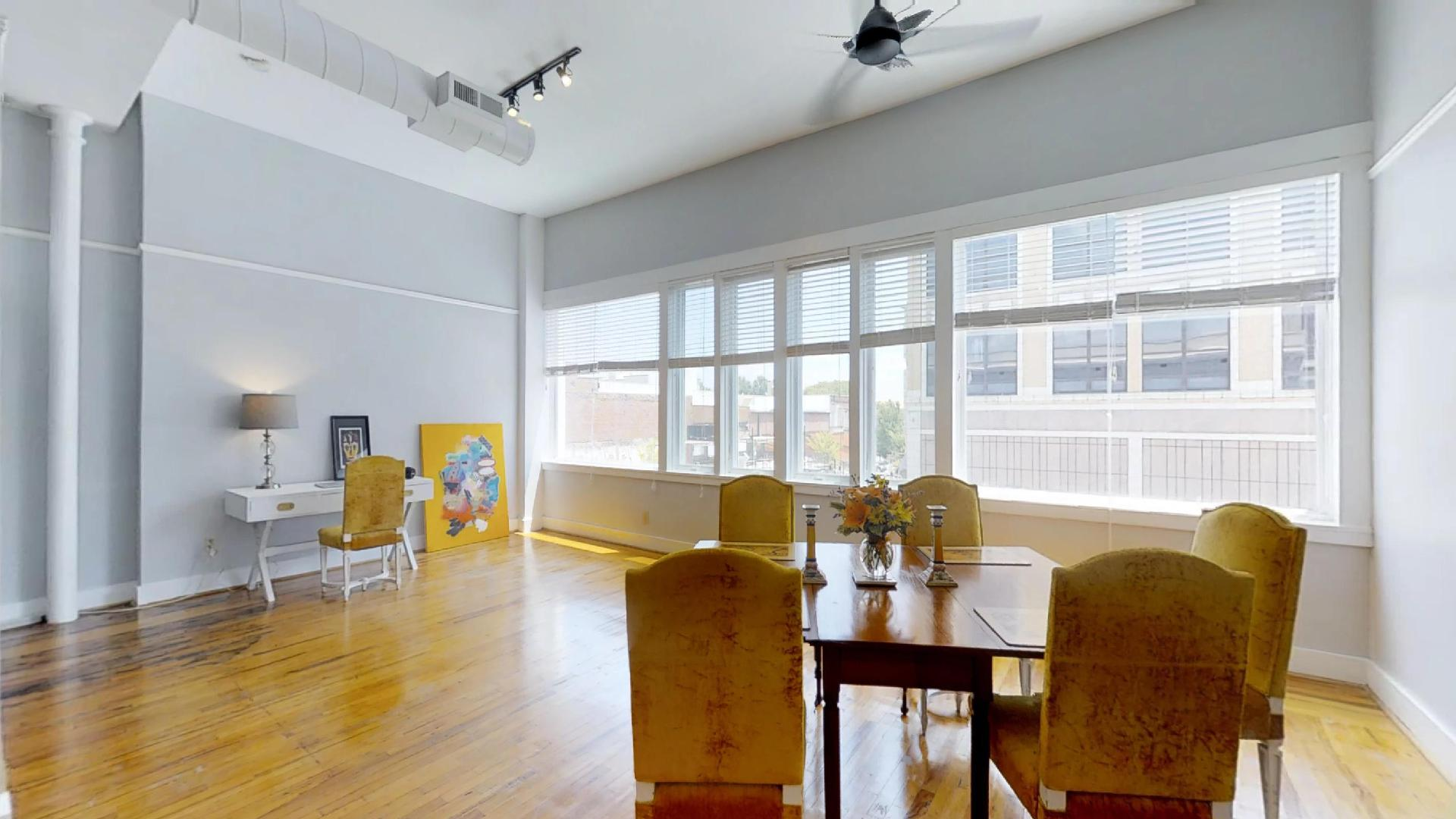 Palmetto Loft Living Room